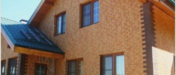 Клинкерные панели для фасада, красота и практичность