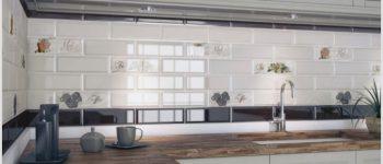 Плитка кабанчик на фасадах васильевского острова и в современном интерьере
