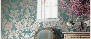 Текстильные обои для стен