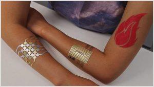 Электронные «устройства-татуировки»