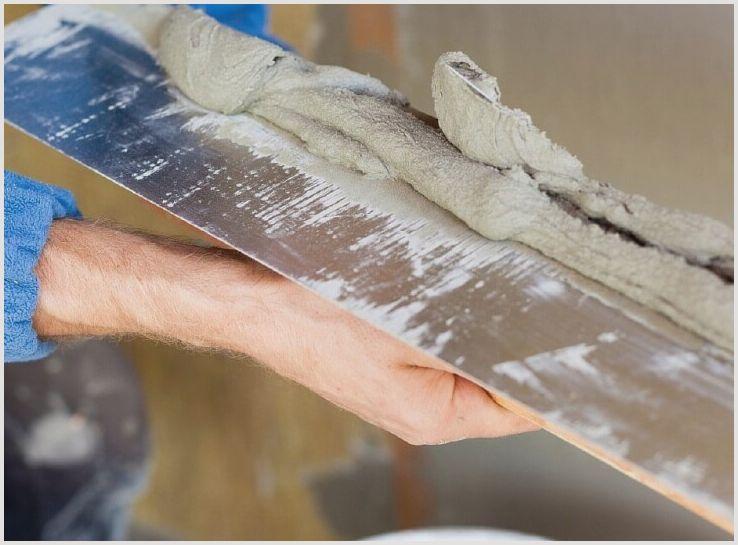 Цементная шпатлевка это отличный способ выравнивания поверхности