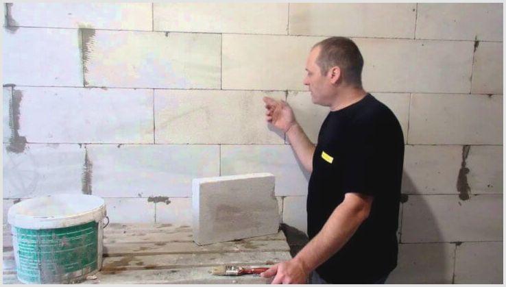 Чем и как штукатурить газобетон внутри дома: рассматриваем вариант штукатурки для различных поверхностей
