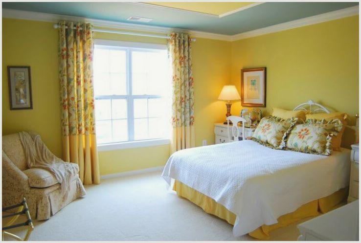 Цвет стен в спальне, приятный для отдыха