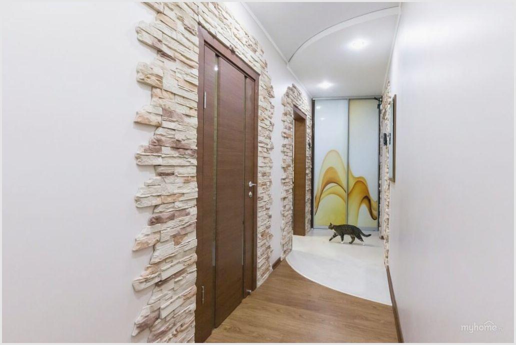 Декоративный камень: использование при отделке в коридоре