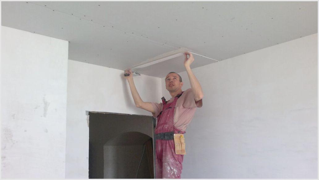 Качественный ремонт потолка в квартире своими руками