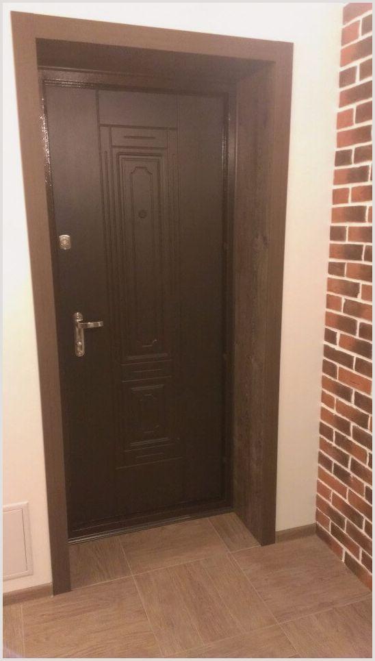 Как сделать откосы входной двери из мдф