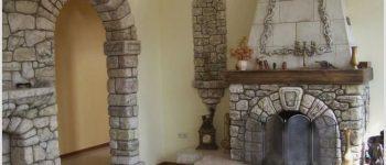 Материалы подходящие для отделки каминов и печей: преимущества и недостатки
