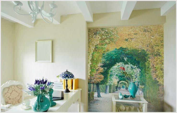 Обои с деревьями на стену создадут удивительную обстановку покоя и отдыха