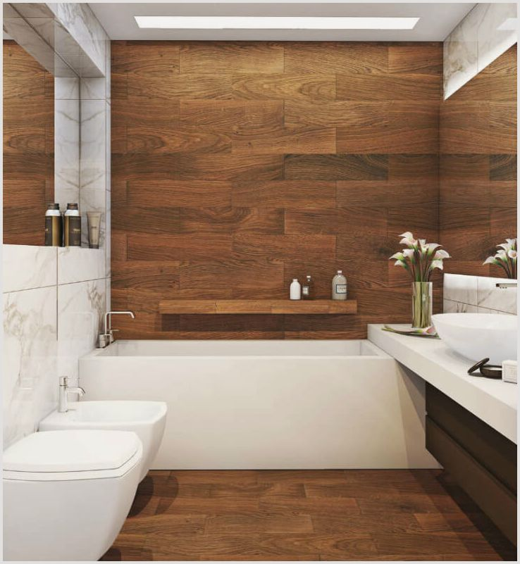 Отделка для ванной комнаты различными способами