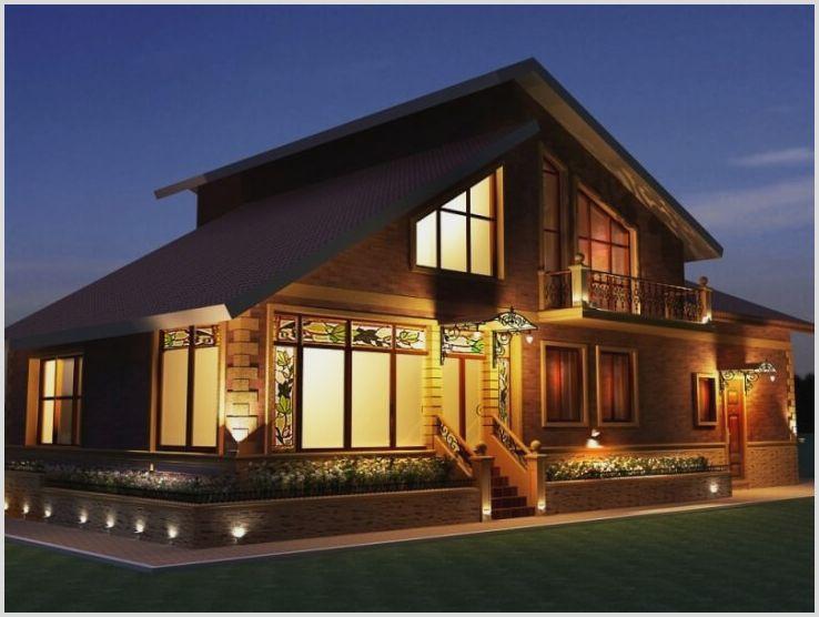 Подсветка фасадов, новый облик при помощи света