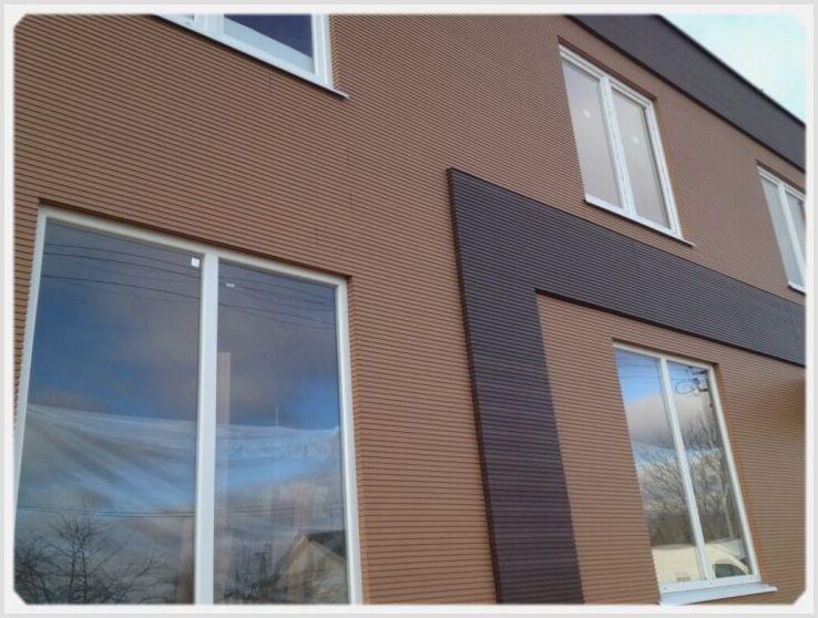 Устройство фасадов из композитных панелей