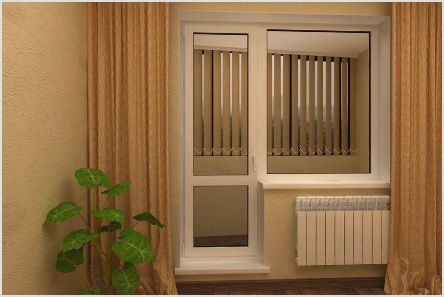 Варианты выполнения порогов на балконную дверь