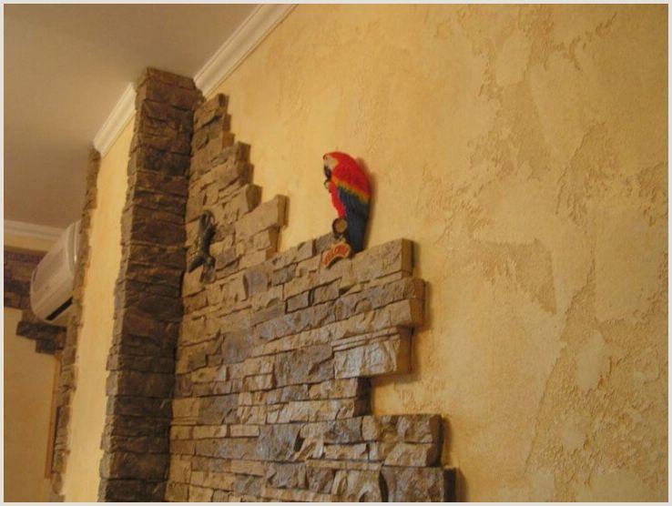 Выбираем декоративную отделку для стен