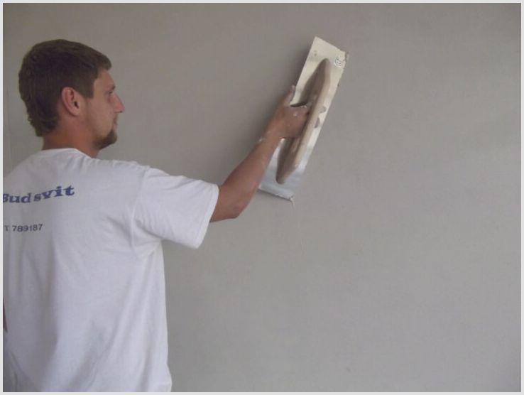 Выполняем шпаклёвку стен под покраску и знакомимся с материалом